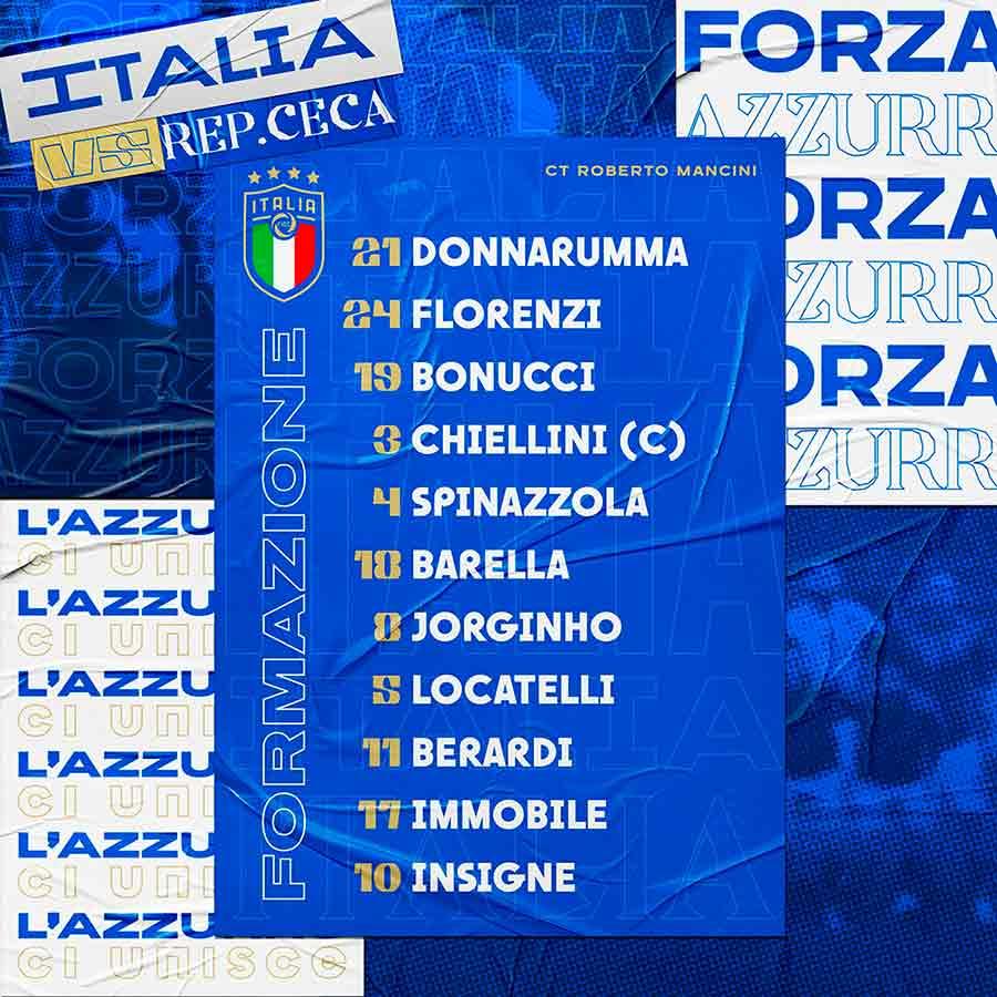 Italia vs Turquía por Eurocopa 2021