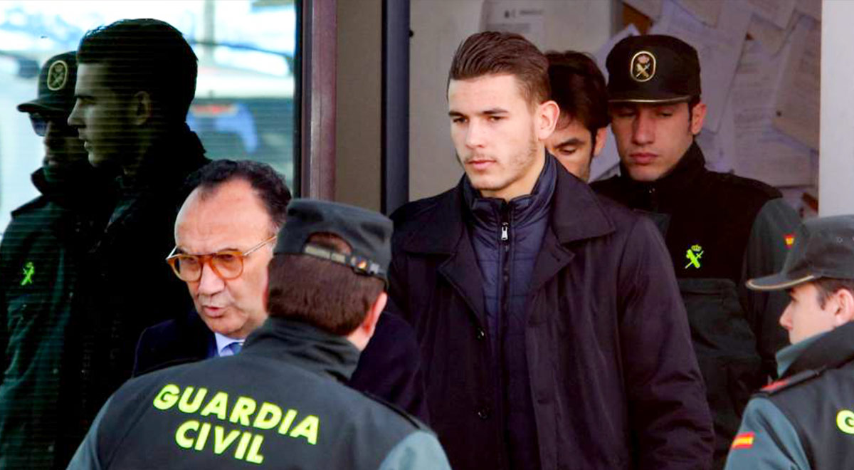 Lucas Hernández va a prisión tras decisión de justicia española